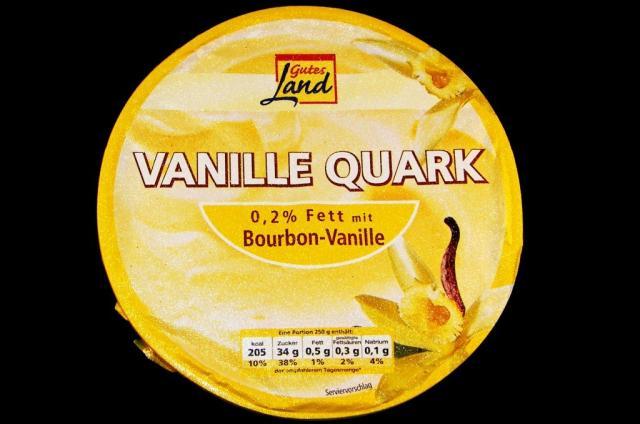 Gutes Land Vanillequark Bourbon-Vanille 500 g