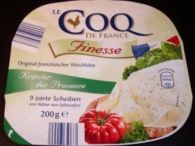 Le Coq de France Französischer Weichkäse, Kräuter der Proven | Hochgeladen von: Bellis