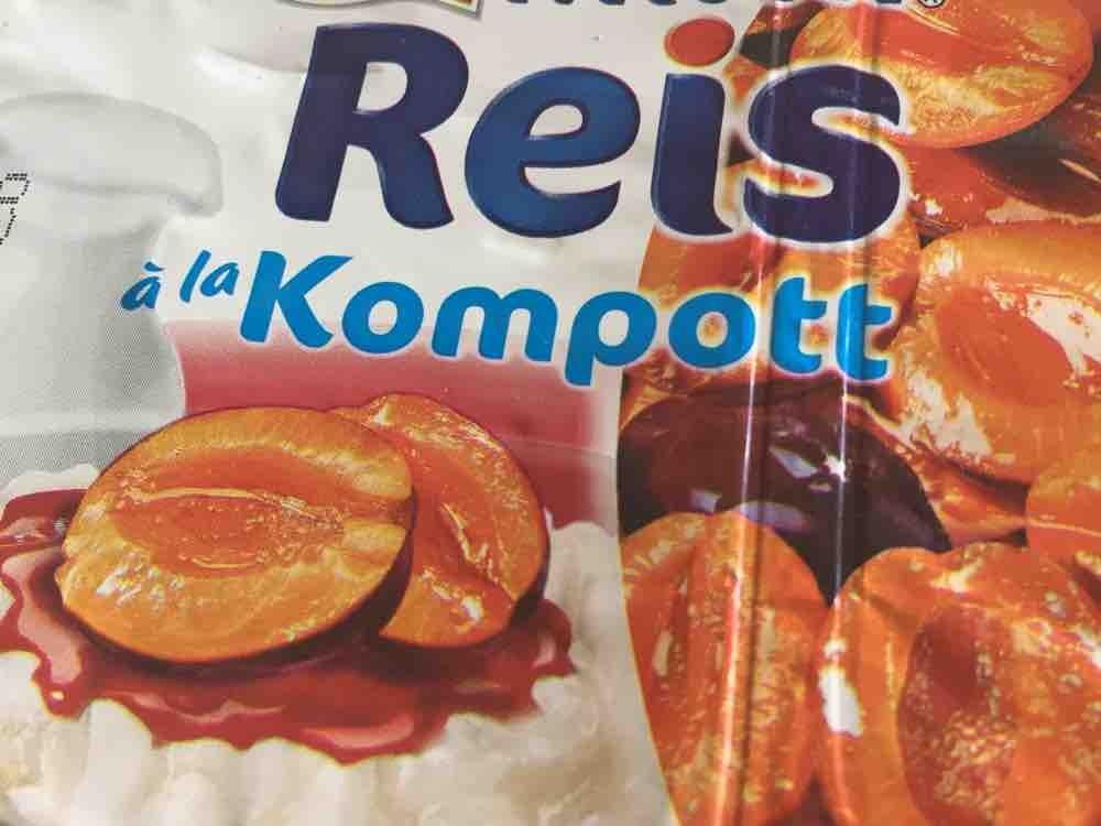 Milchreis Kompott, Pflaume von jeannetteandree610 | Hochgeladen von: jeannetteandree610