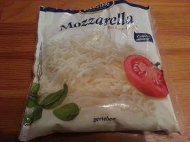 Goldsteig Mozzarella gerieben, Mozzarella | Hochgeladen von: loona21