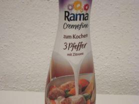 Rama Cremefine zum Kochen, 3 Pfeffer mit Zitrone | Hochgeladen von: success