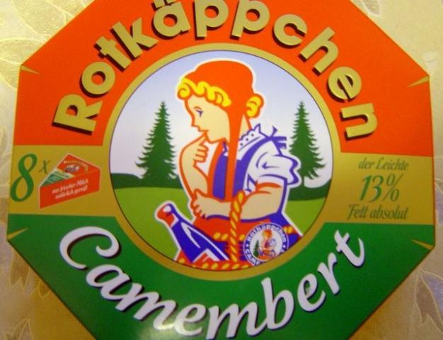 """Rotkäppchen Camembert """"Der Leichte"""", 8 Ecken"""