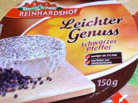 Reinhardshof Leichter Genuss, Sauermilchkäse mit schwar | Hochgeladen von: tea