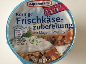 körniger Frischkäse leicht, Alpenmark   Hochgeladen von: LutzR