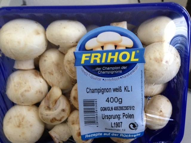 Champignon weiss KL1 FRIHOL | Hochgeladen von: jp65