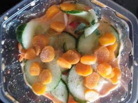Gemischter Salat, mit Dressing | Hochgeladen von: erwin.maier1