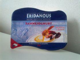 eridanous sahnejoghurt mit honig und datteln kalorien joghurt fddb. Black Bedroom Furniture Sets. Home Design Ideas