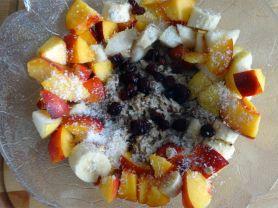 Birne-Nektarine-Porridge | Hochgeladen von: Volldurchgeknallt