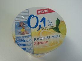 Rewe Joghurt Mild 0,1% fett, Zitrone | Hochgeladen von: darklaser