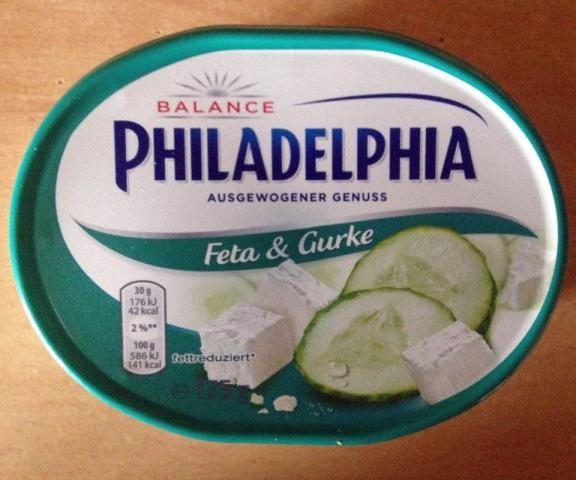 Philadelphia Balance, Gurke & Feta 11% Fett   Hochgeladen von: xmellixx