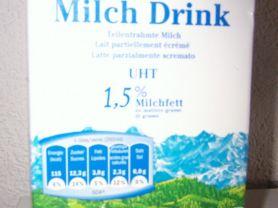 milchdrink milbona 1,5 % Milchfett (Lidl) | Hochgeladen von: dasfrettchen