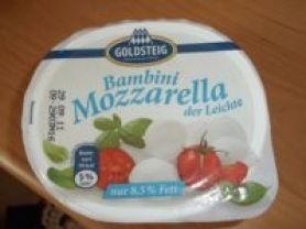 Bambini Mozzarella - der Leichte   Hochgeladen von: Mausi42