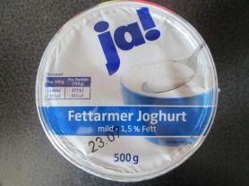 Fettarmer Joghurt mild 1,5%, natur | Hochgeladen von: CaroHayd