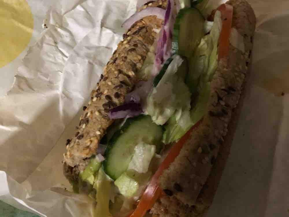 Subway Sandwich Roasted Chicken Breast mit Vollkornbrot von Bettuey | Hochgeladen von: Bettuey