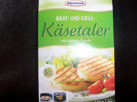 Alpenmark Brat- und Grill Käsetaler, mit mildem Gouda | Hochgeladen von: Nudelpeterle 12.07.10    63 kg