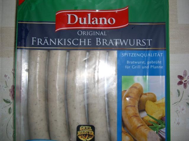 Dulano Fränkische Bratwurst 350 g