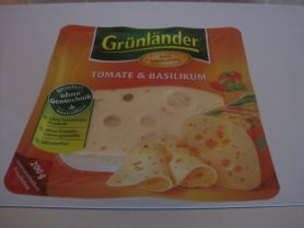 Grünländer Scheibenkäse, Tomate-Basilikum   Hochgeladen von: belinda