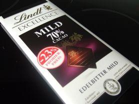 Lindt Excellence Mild, 70% Cacao | Hochgeladen von: HJPhilippi
