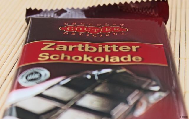 Goutier Zartbitter Schokolade 100 g