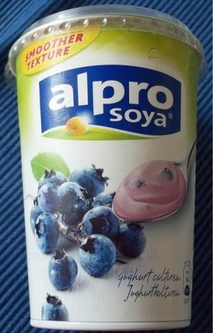 alpro soya Joghurt Heidelbeere