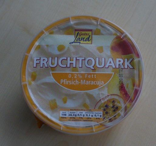Gutes Land Fruchtquark Pfirsch-Maracuja 500 g