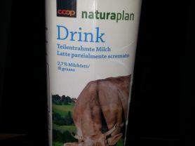 naturaplan bio Drink teilentrahmte Milch 2.7%, keine | Hochgeladen von: Misio