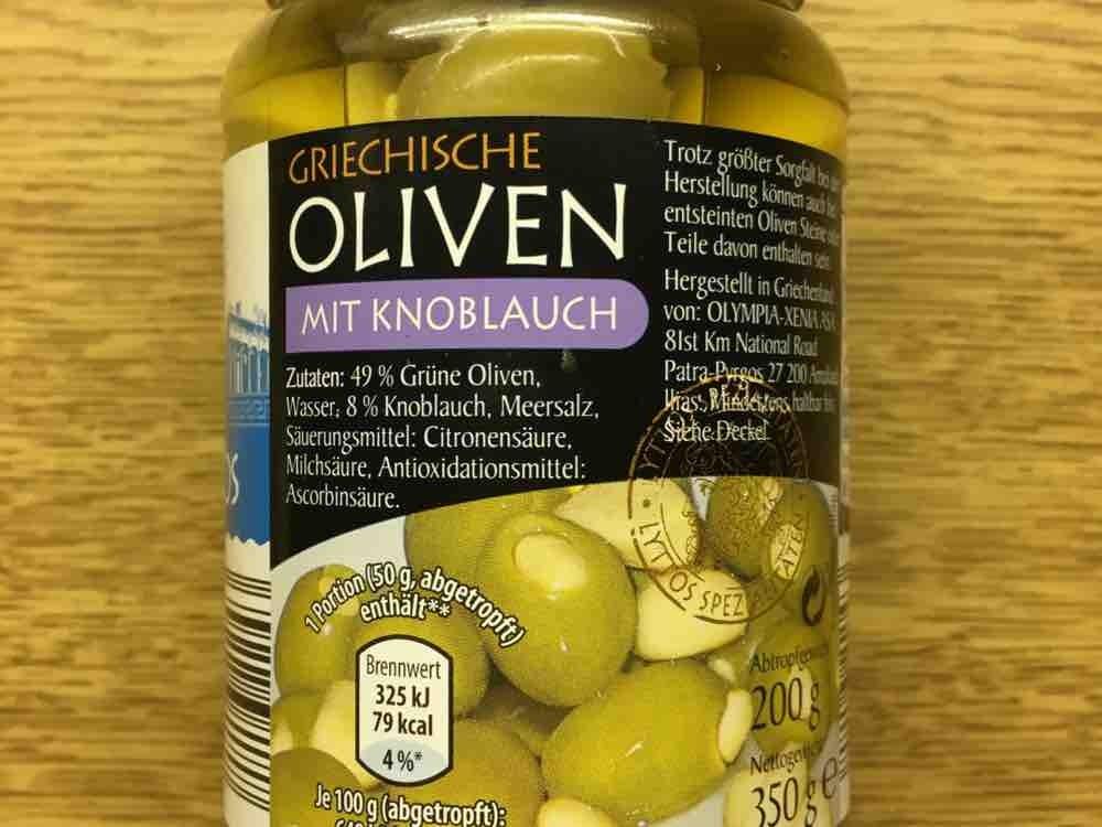 Oliven, mit Knoblauch von viovia | Hochgeladen von: viovia