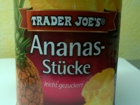Ananas-Stücke leicht gezuckert | Hochgeladen von: putzeck293