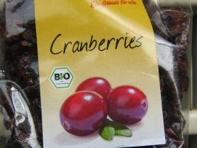 Cranberries (basic Bio), gesüßt, getrocknet | Hochgeladen von: malufi89