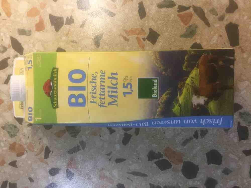 Schwarzwälder Bioland Milch 1,5% fettarm, Milch von Rainbows56 | Hochgeladen von: Rainbows56