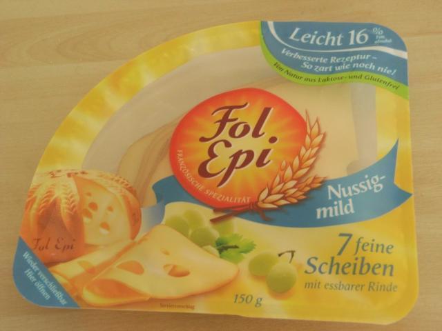 Fol Epi Käsescheiben leicht, nussig mild   Hochgeladen von: Teecreme