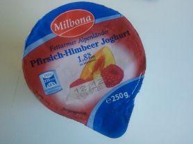 Fettarmer Alpenländer Jogurt, Pfirsich-Himbeer | Hochgeladen von: darklaser