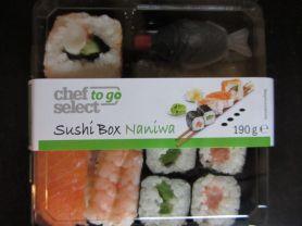 Sushibox Naniwa (Chef Select to go) | Hochgeladen von: mehrfrau