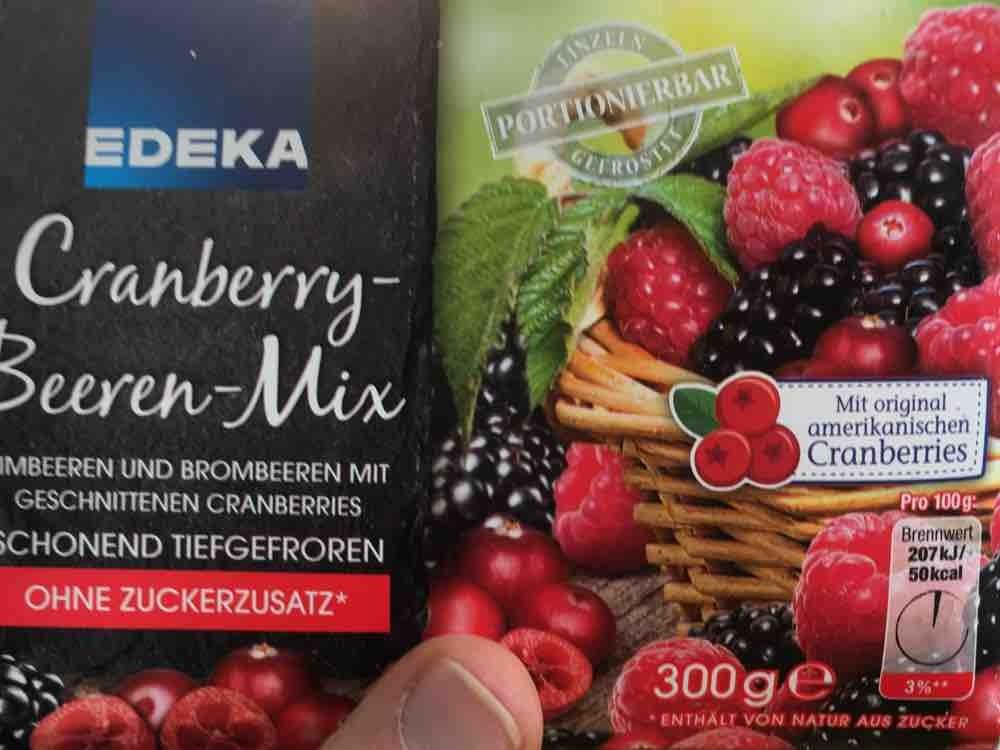 edeka cranberry beeren mix kalorien neue produkte fddb. Black Bedroom Furniture Sets. Home Design Ideas