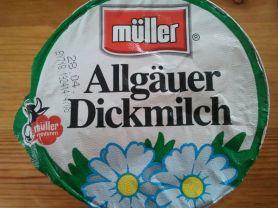 Allgäuer Dickmilch | Hochgeladen von: huhn2