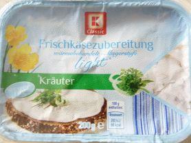 Frischkäsezubereitung 0,2% Fett, Kräuter | Hochgeladen von: fitstar