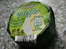 Hofburger Cremiger Weichkäse (Aldi), PFEFFER | Hochgeladen von: Rallenta