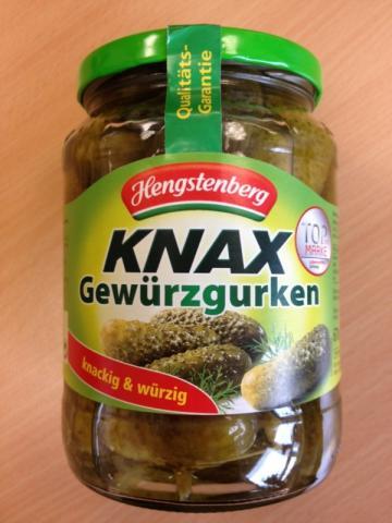 Hengstenberg Knax Gewürzgurken 720 ml