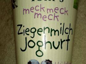 Ziegenmilchjoghurt, Heidelbeere | Hochgeladen von: wicca