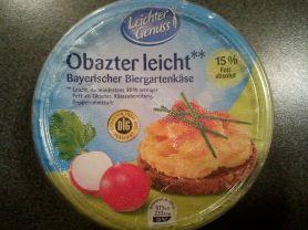 Obazter light Bayerischer Biergartenkäse | Hochgeladen von: huhn2