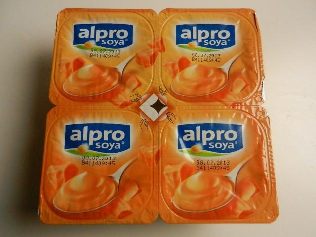 alpro soya Softer Karamell 4 x 125 g