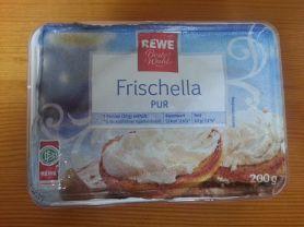 Rewe, Frischella, pur Kalorien - Frischkäse - Fddb