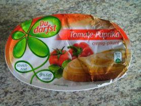 Du darfst Schmelzkäsezubereitung, Tomate-Paprika | Hochgeladen von: finnegan