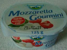Mozzarella Gourmini, Halbfettstufe | Hochgeladen von: blackzeck81