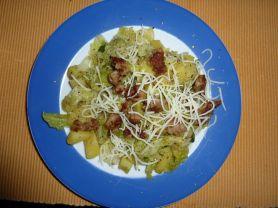 Fleisch-Schwein-Wirsing mit Mett und Kartoffeln  | Hochgeladen von: Muminni