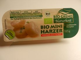 Bio Greno Bio Mini Harzer, weniger als 1 % Fett | Hochgeladen von: maeuseturm