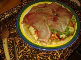 Pizza a la pesto prosciutto crudo | Hochgeladen von: Volldurchgeknallt
