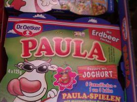 Paula Dessert mit Joghurt, mit Erdbeerflecken | Hochgeladen von: lipstick2011