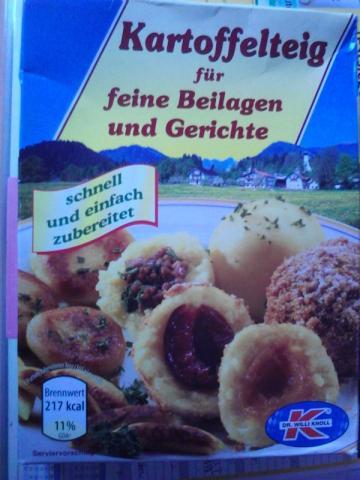 Kartoffelteig f�r feine Beilagen und Gerichte | Hochgeladen von: Amba
