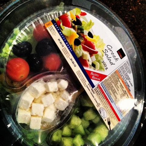 Coop griechischer salat kalorien